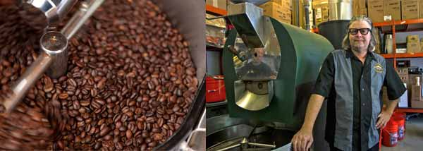 roasting Coffee San Luis Obispo